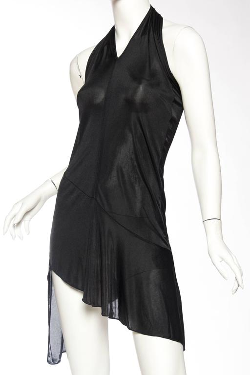 John Galliano Christian Dior Slinky LBD In Excellent Condition For Sale In New York, NY