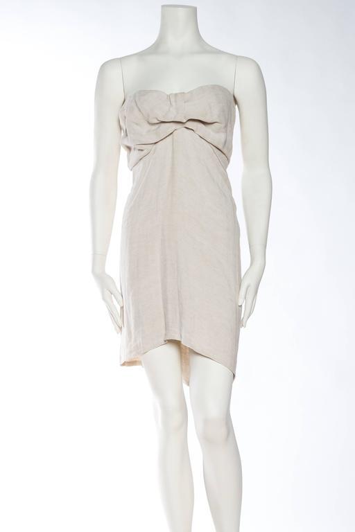 1990s Donna Karan Minimalist Jersey Dress 3