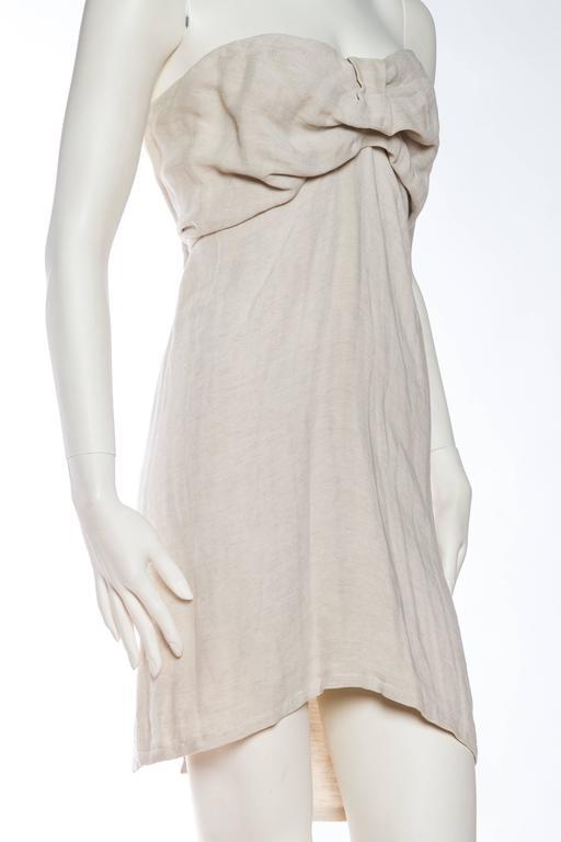 Women's 1990s Donna Karan Minimalist Jersey Dress For Sale