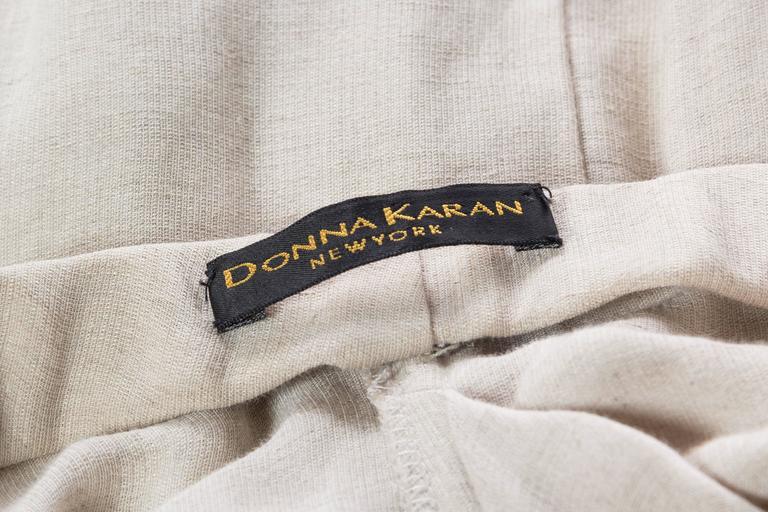 1990s Donna Karan Minimalist Jersey Dress For Sale 6