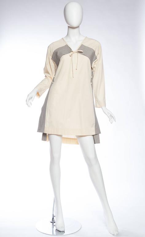 Issey Miyake Japanese Tunic Dress 3