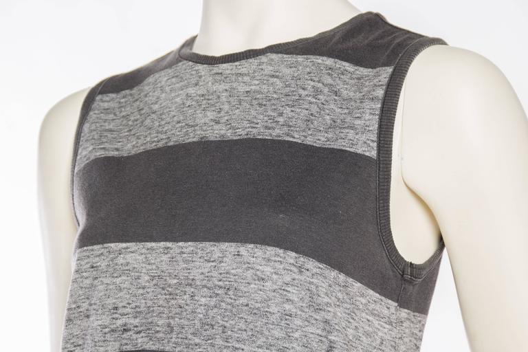 Early Issey Miyake  Draped Cotton Jersey T-Shirt 6