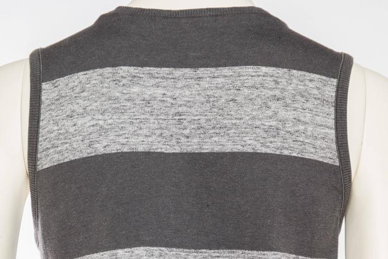Early Issey Miyake  Draped Cotton Jersey T-Shirt For Sale 3