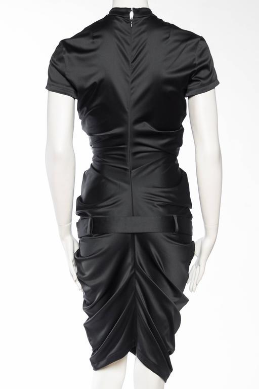 Women's Elizabeth - Sexy John Galliano Stretch Silk Chinese Dress For Sale