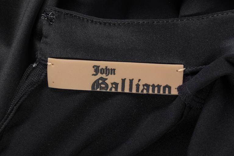 Elizabeth - Sexy John Galliano Stretch Silk Chinese Dress For Sale 5