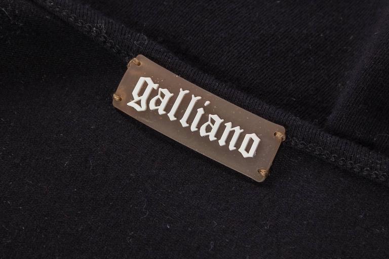 John Galliano Punk Rock Chain Fringe T-Shirt For Sale 6