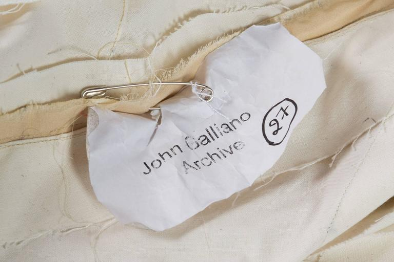 John Galliano for Dior working Toille from his Archive For Sale 5
