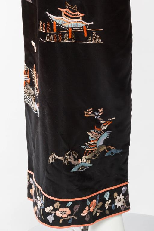 Antique Silk Chinese Pjamas For Sale 2