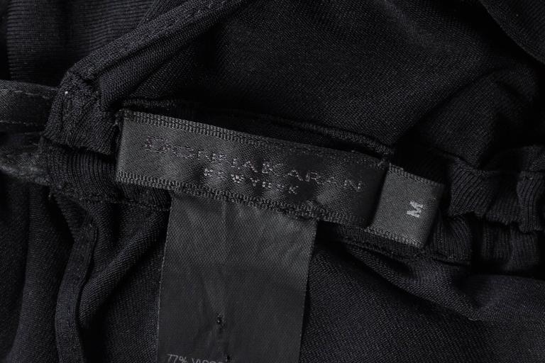 1990s Donna Karan Ruched Jersey Bodysuit For Sale 5