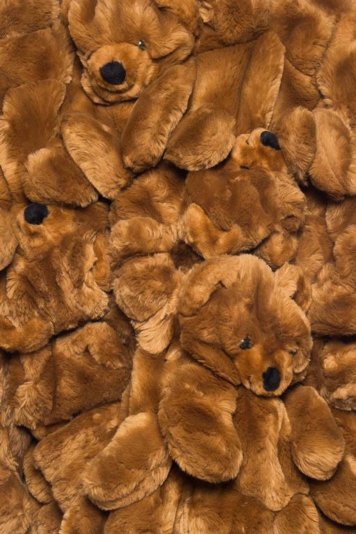 1980S JEAN CHARLES DE CASTELBAJAC Teddy Bear Coat For Sale 5