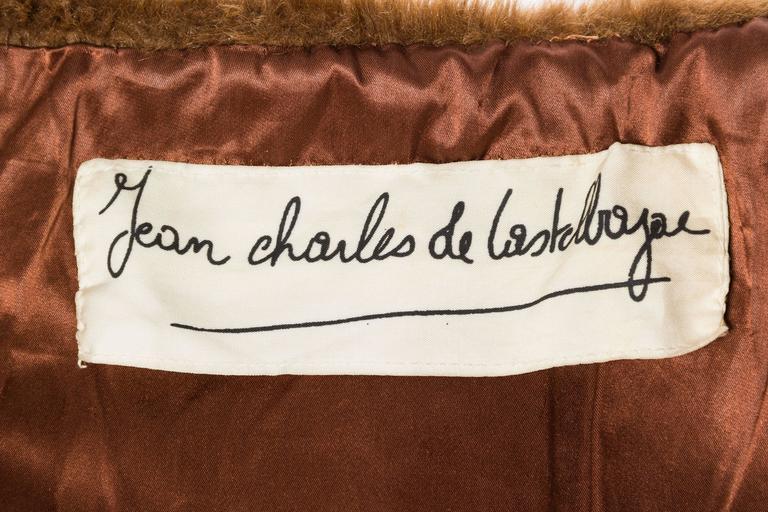 1980S JEAN CHARLES DE CASTELBAJAC Teddy Bear Coat For Sale 6