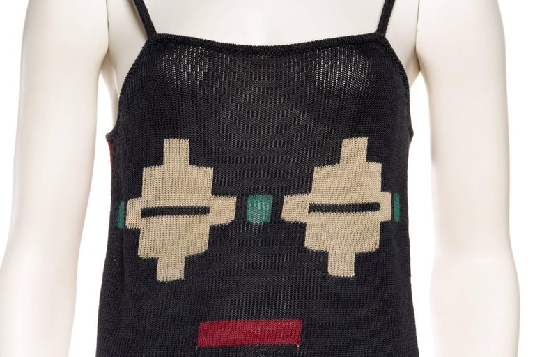 Issey Miyake Knit Computer Face Top 7