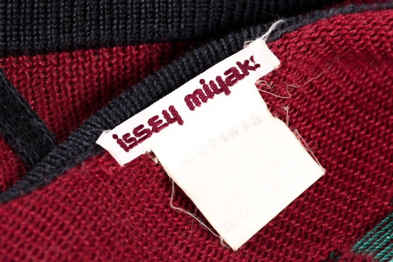 Issey Miyake Knit Computer Face Top 10