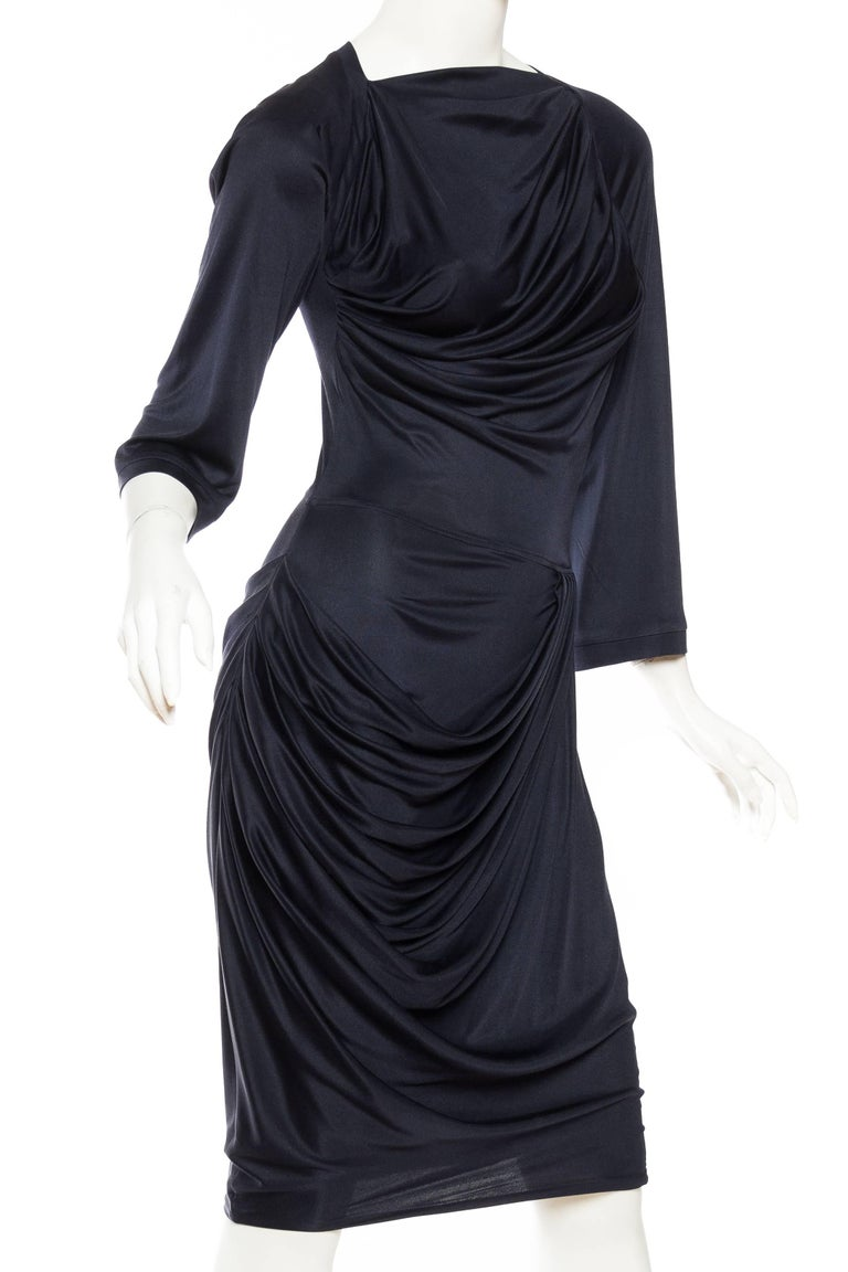 Alexander McQueen Sexy Jersey Dress In Excellent Condition For Sale In New York, NY