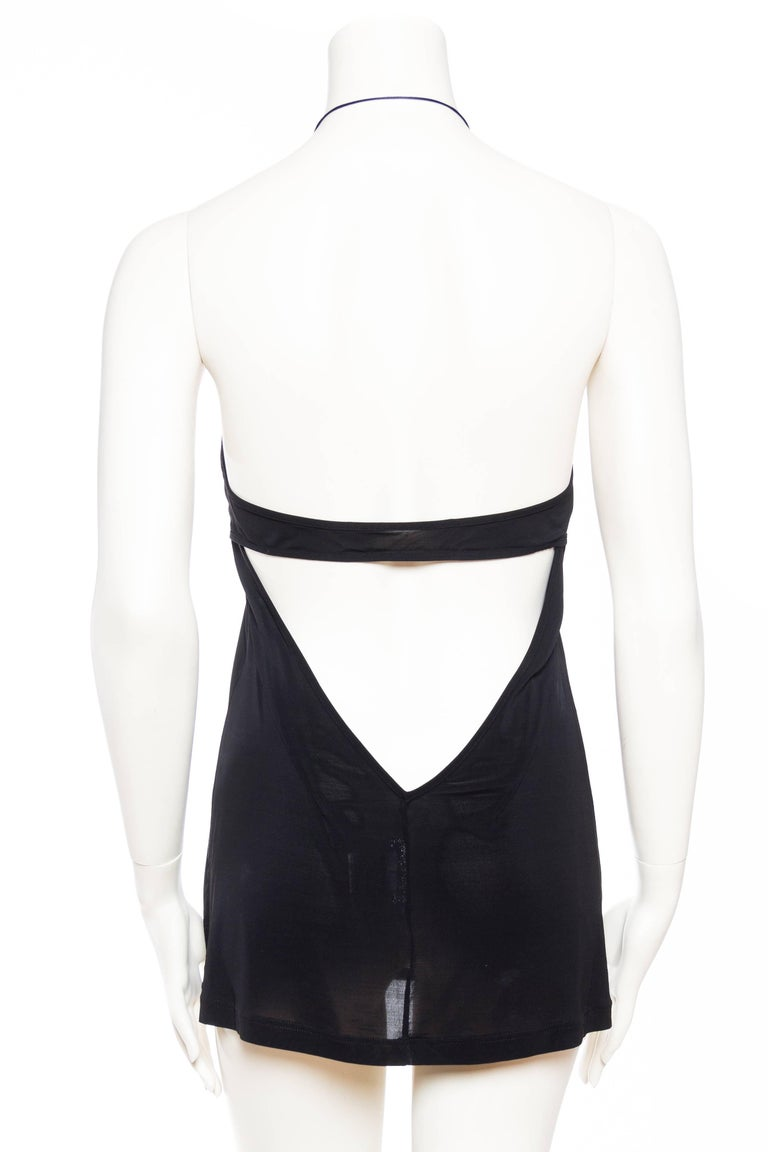 Paco Rabanne Backless Micro Mini Halter Dress For Sale 2
