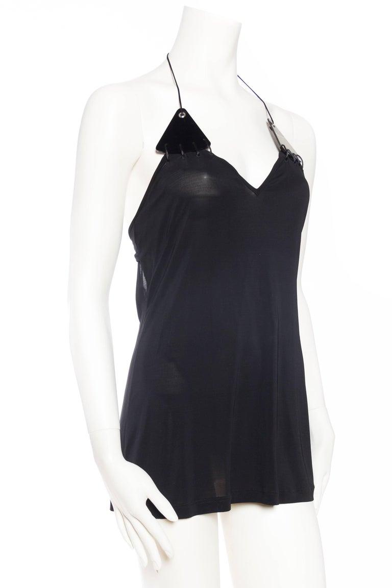 Women's Paco Rabanne Backless Micro Mini Halter Dress For Sale