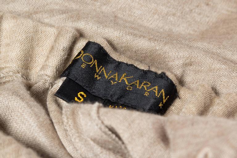 Donna Karan Draped Cashmere Skirt For Sale 4