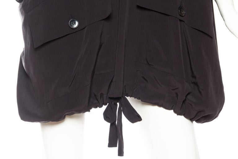 Balenciaga oversized Silk Bomber Blouse 8