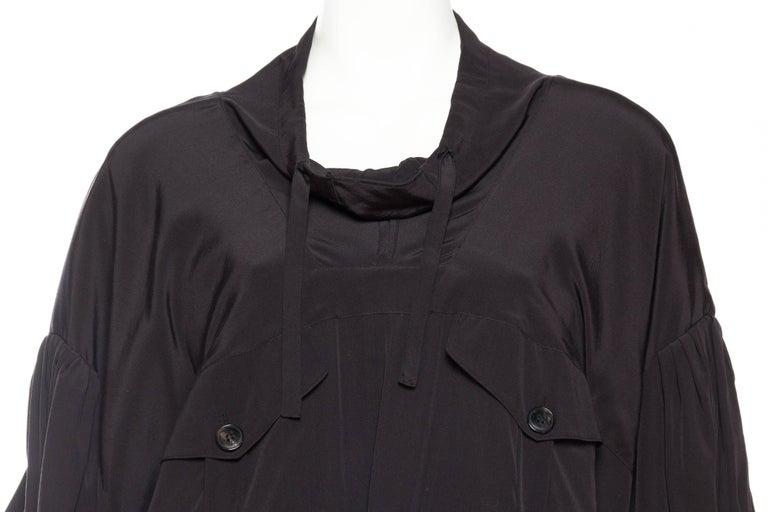 Balenciaga oversized Silk Bomber Blouse 6
