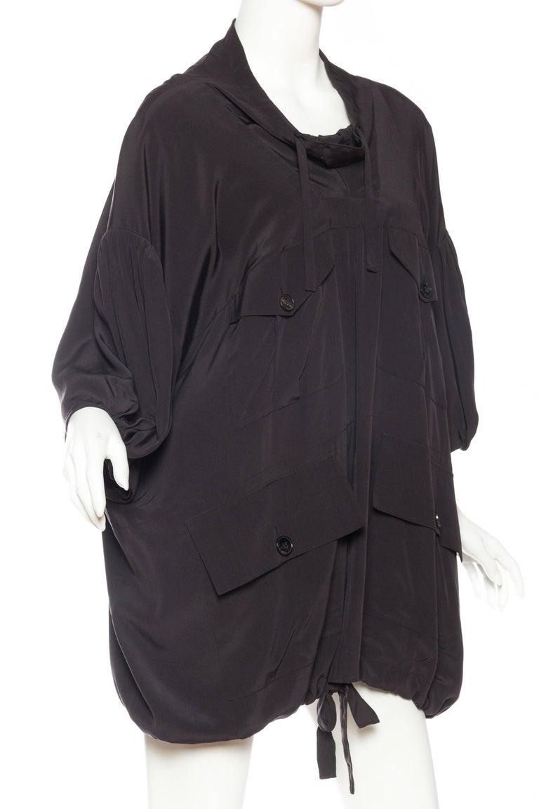 Balenciaga oversized Silk Bomber Blouse 3