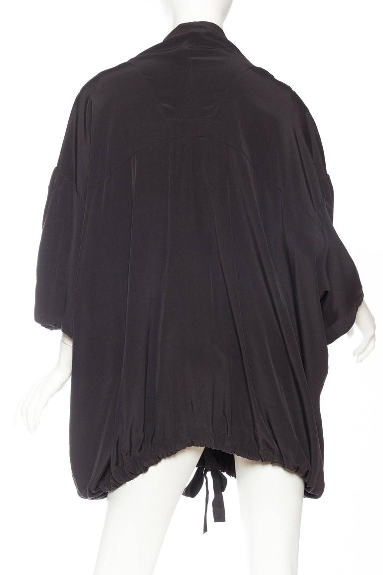 Balenciaga oversized Silk Bomber Blouse 5