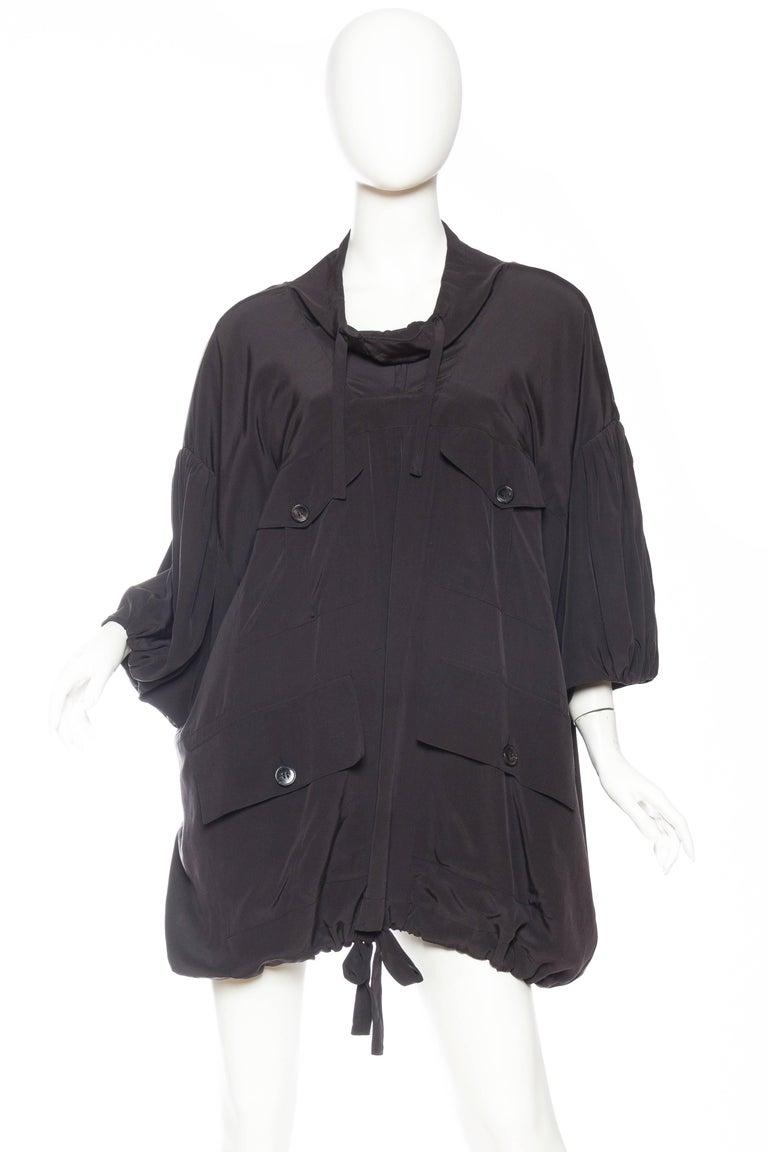 Balenciaga oversized Silk Bomber Blouse 2