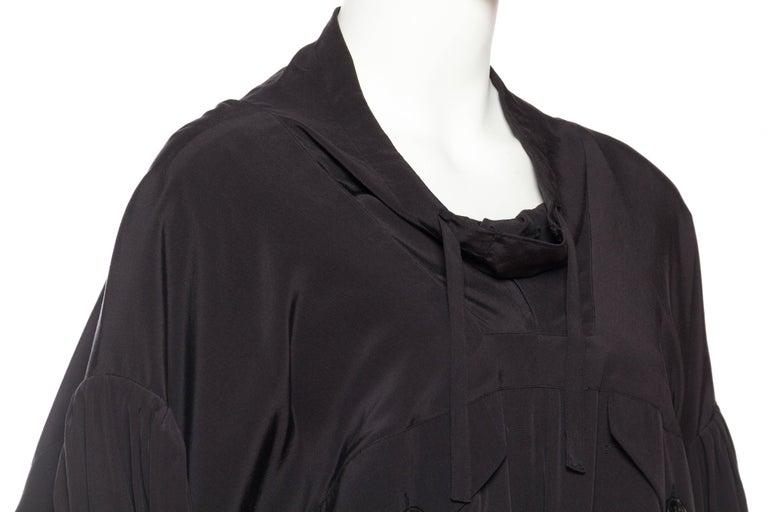Balenciaga oversized Silk Bomber Blouse 7