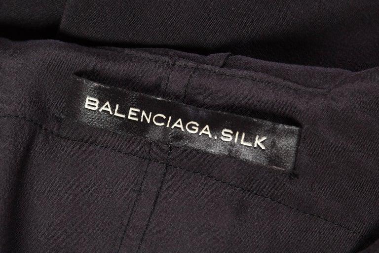 Balenciaga oversized Silk Bomber Blouse 9