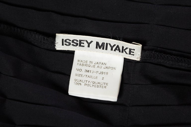 Issey Miyake Pleated Blouse For Sale 6