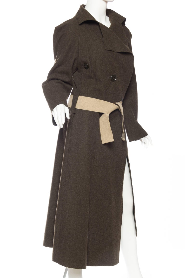 Vivienne Westwood Savage Wool Trenchcoat In Excellent Condition For Sale In New York, NY