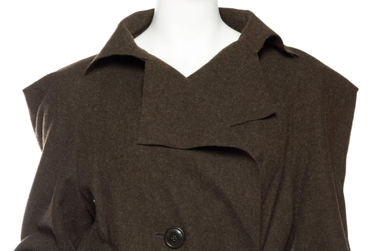 Vivienne Westwood Savage Wool Trenchcoat For Sale 2