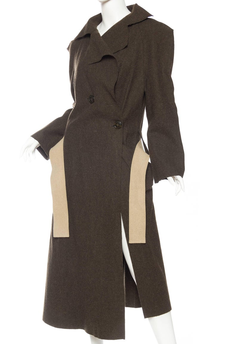 Women's or Men's Vivienne Westwood Savage Wool Trenchcoat For Sale
