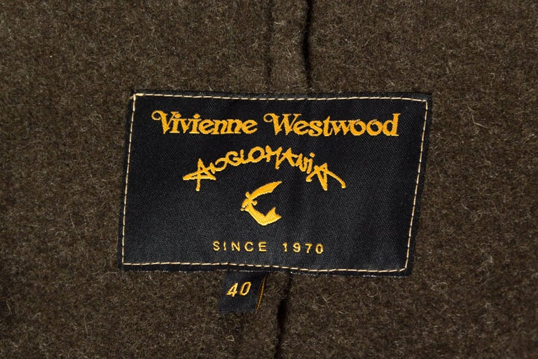 Vivienne Westwood Savage Wool Trenchcoat For Sale 5