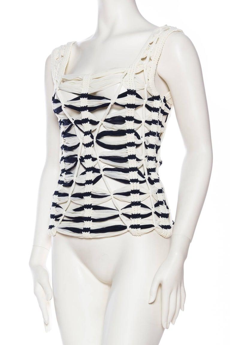 Women's Jean Paul Gaultier Sailor Knit Top NWT For Sale