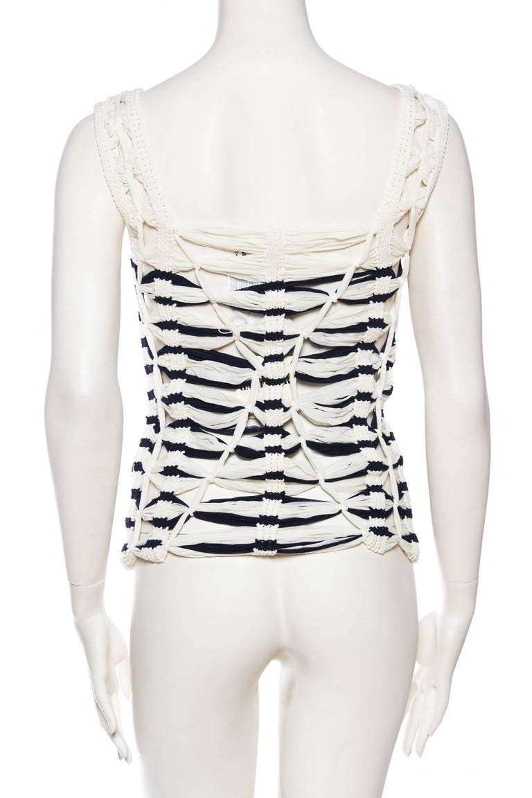 Jean Paul Gaultier Sailor Knit Top NWT For Sale 1