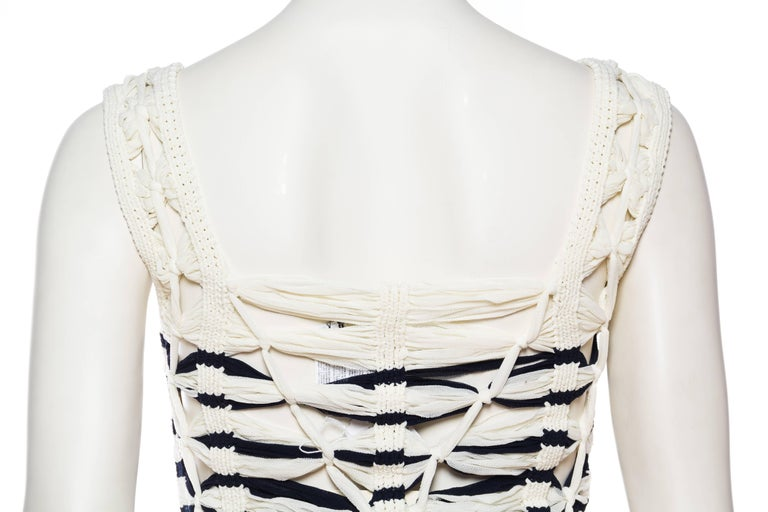Jean Paul Gaultier Sailor Knit Top NWT For Sale 4