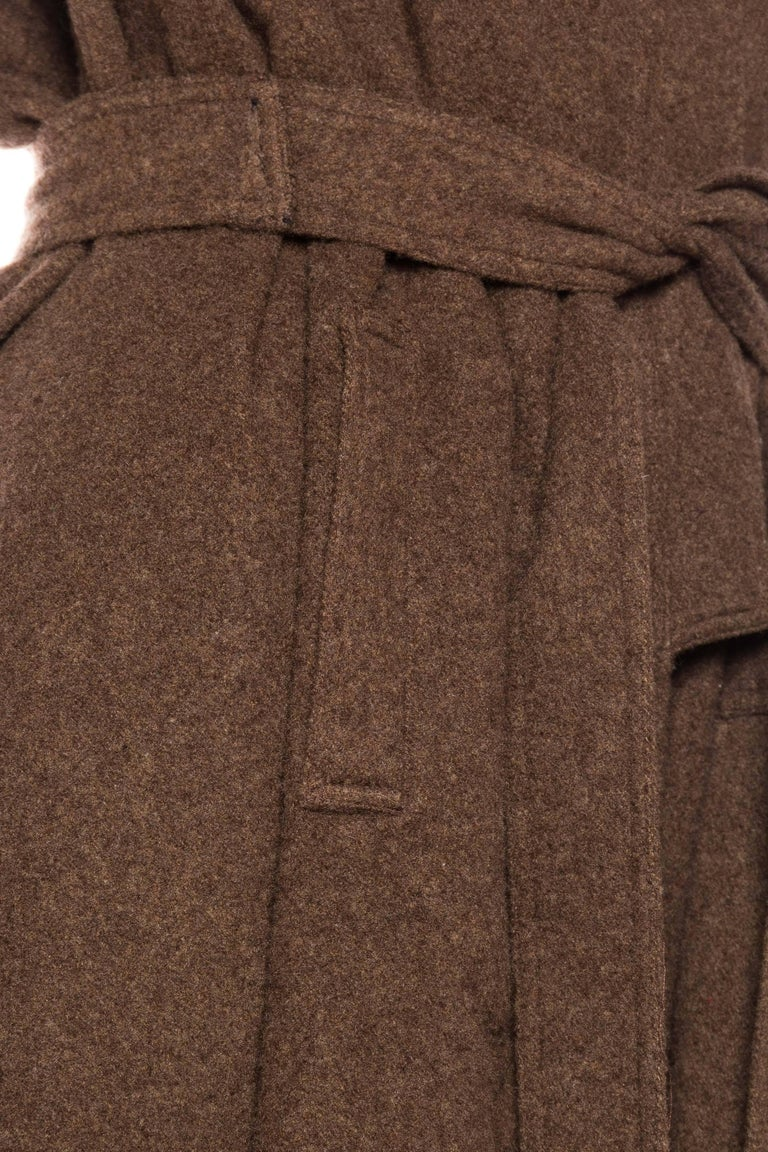 Wool Cape with Hood 10