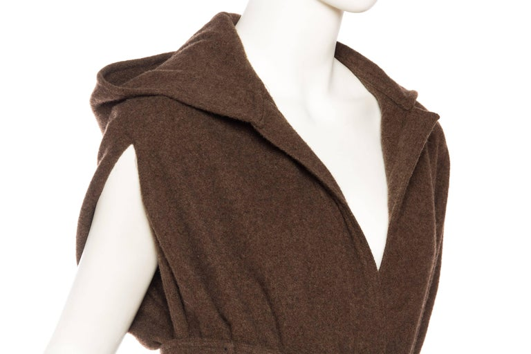 Wool Cape with Hood 9