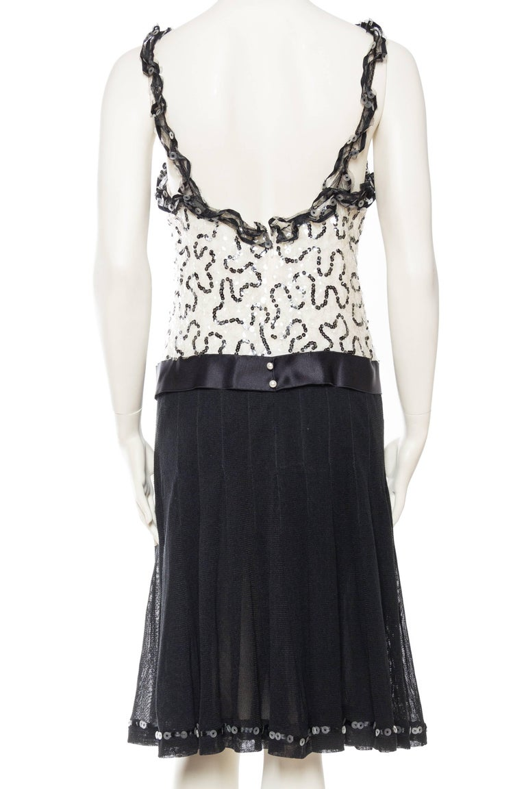 Quintessential Black & White Chanel Dress 5