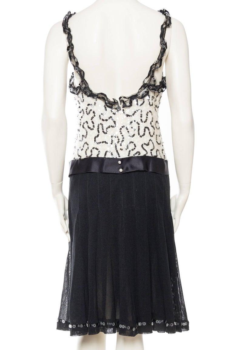 Quintessential Black & White Chanel Dress For Sale 1