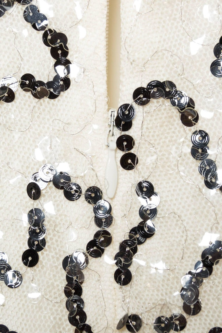 Quintessential Black & White Chanel Dress For Sale 5