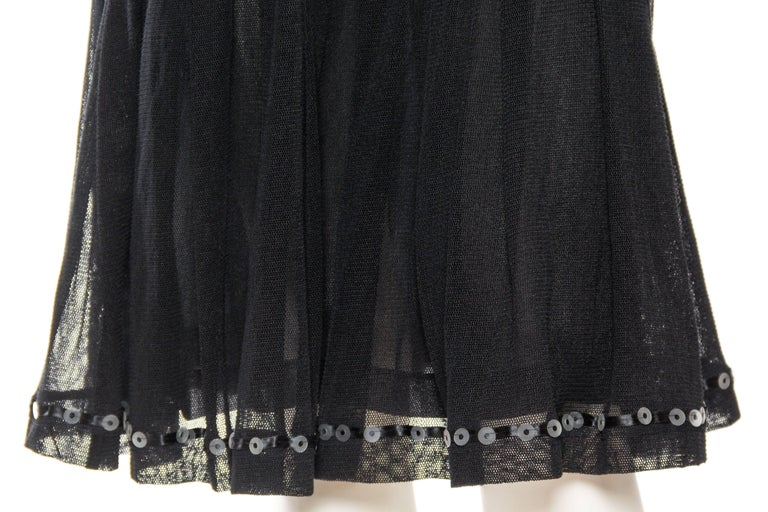 Quintessential Black & White Chanel Dress For Sale 3