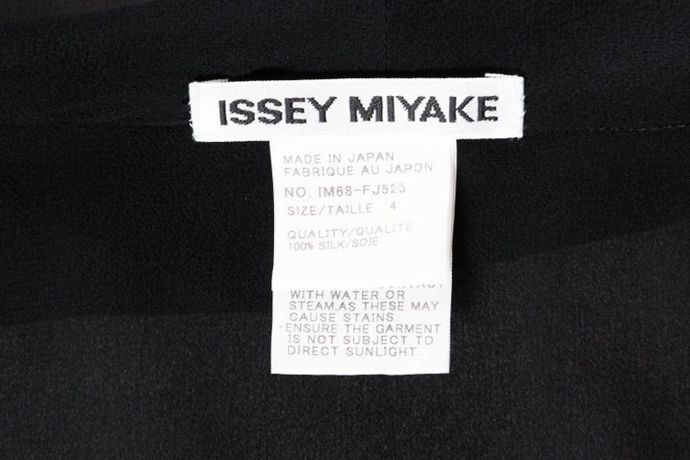 Sheer 1990s Issey Miyake Blouse For Sale 6