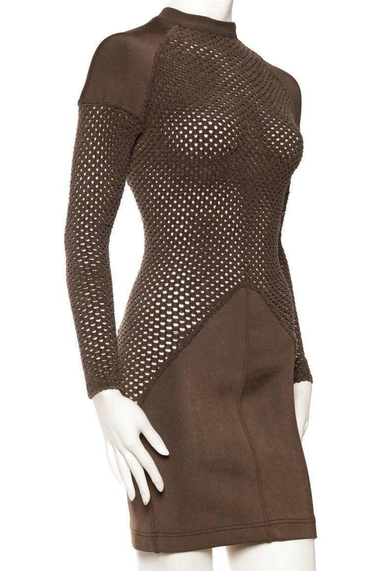 Women's Sheer Net Alaia Dress For Sale
