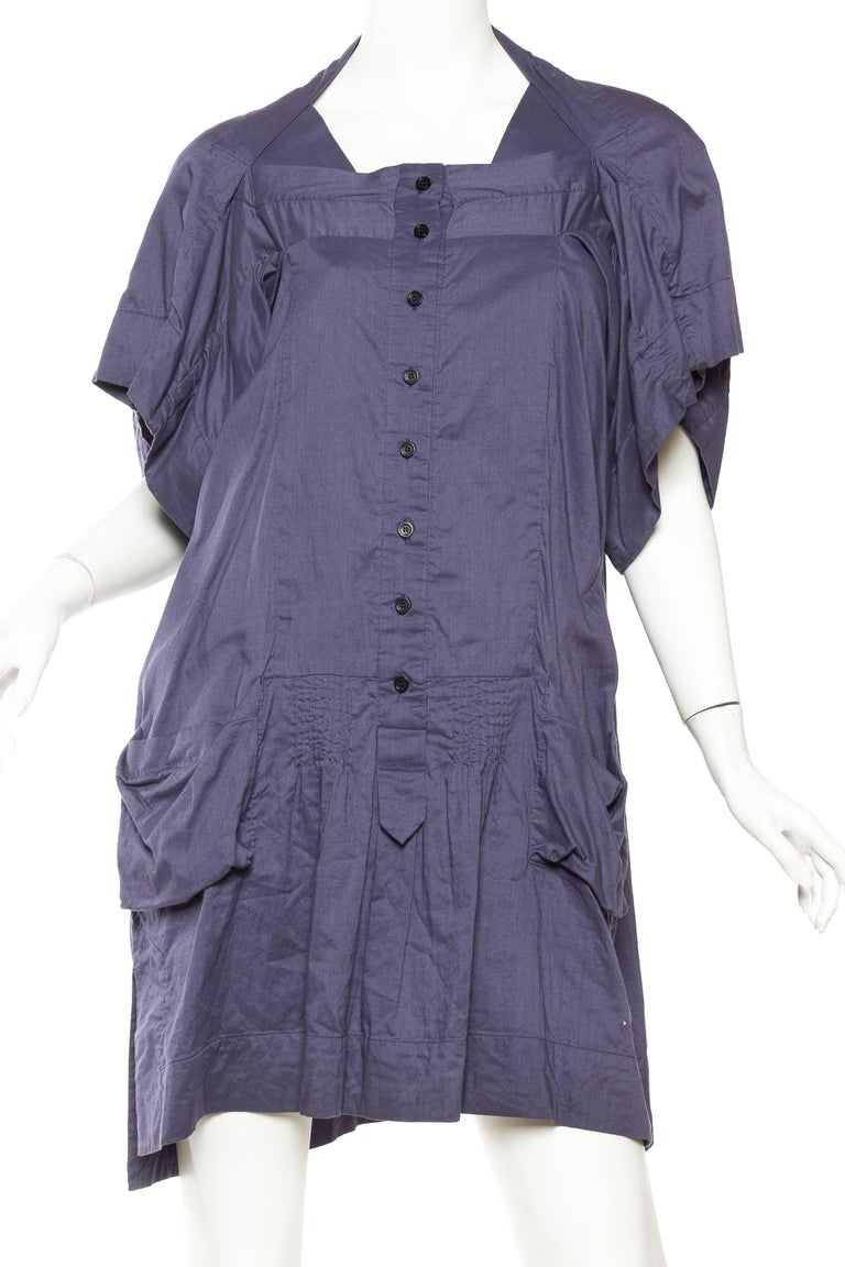 Bernhard Willhelm Cotton Dress In Excellent Condition For Sale In New York, NY