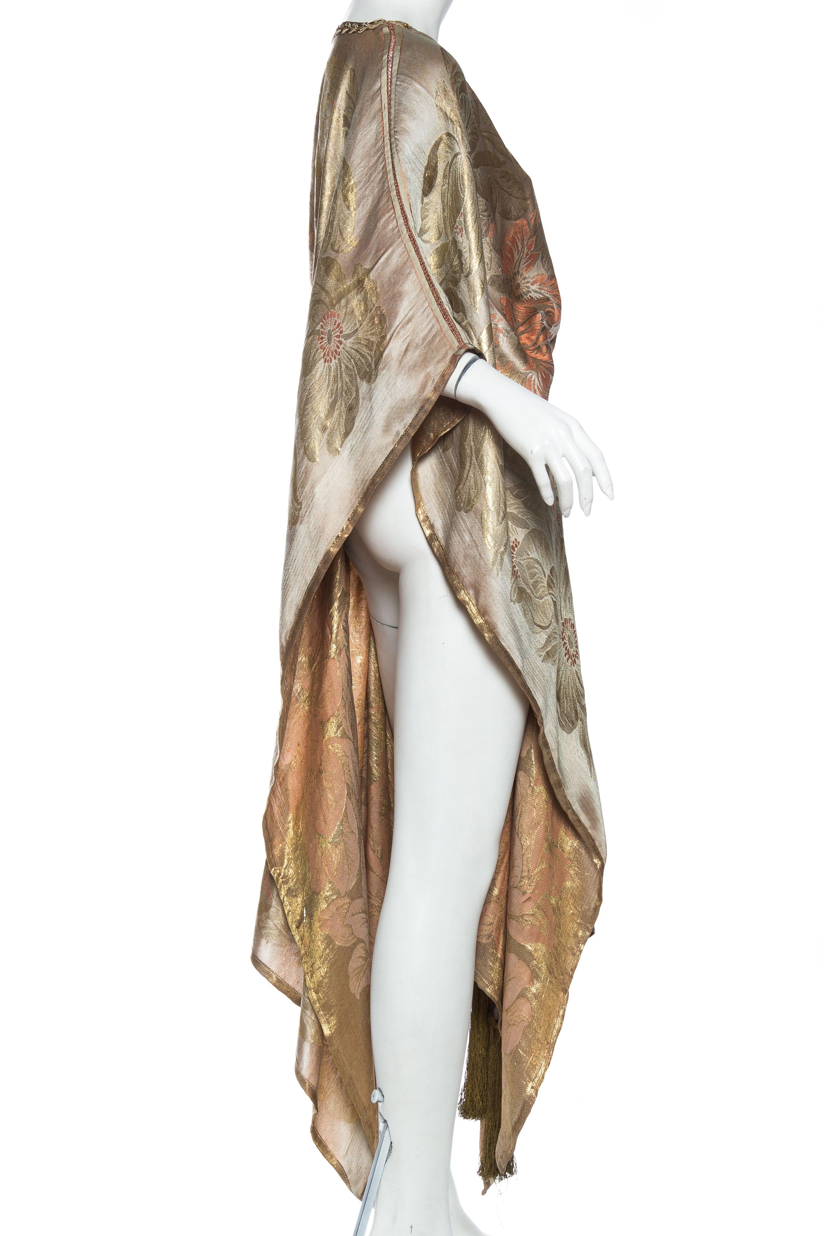 1920s Lamé Tunic Dress at 1stdibs
