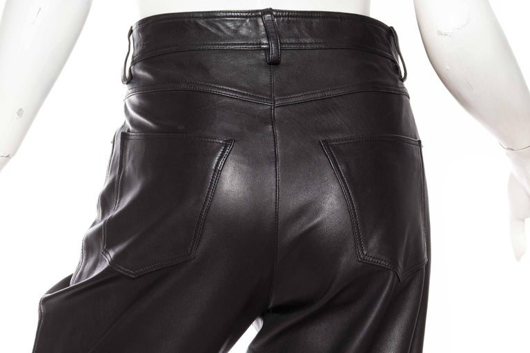 The Perfect Leather Pants from Helmut Lang For Sale 4