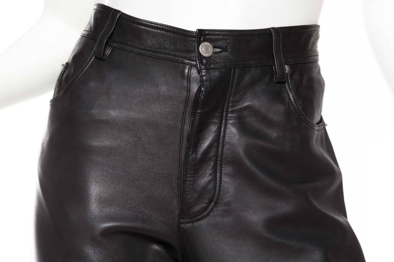 The Perfect Leather Pants from Helmut Lang For Sale 1