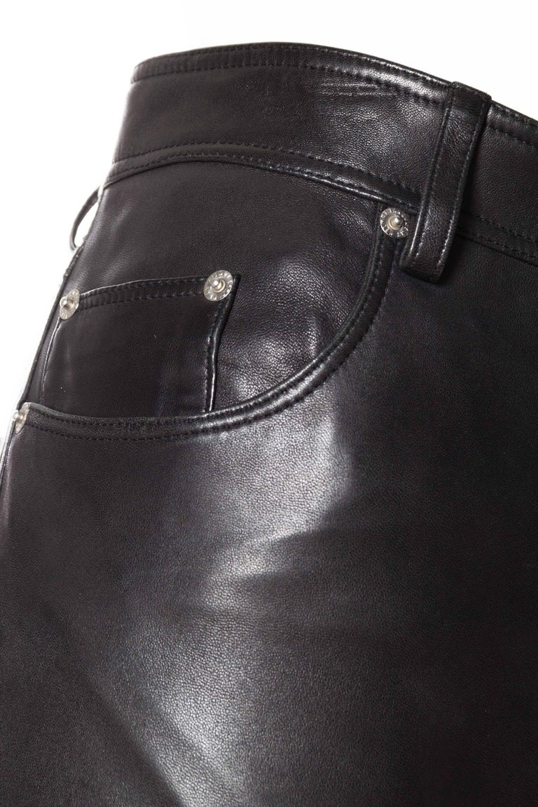 The Perfect Leather Pants from Helmut Lang For Sale 3