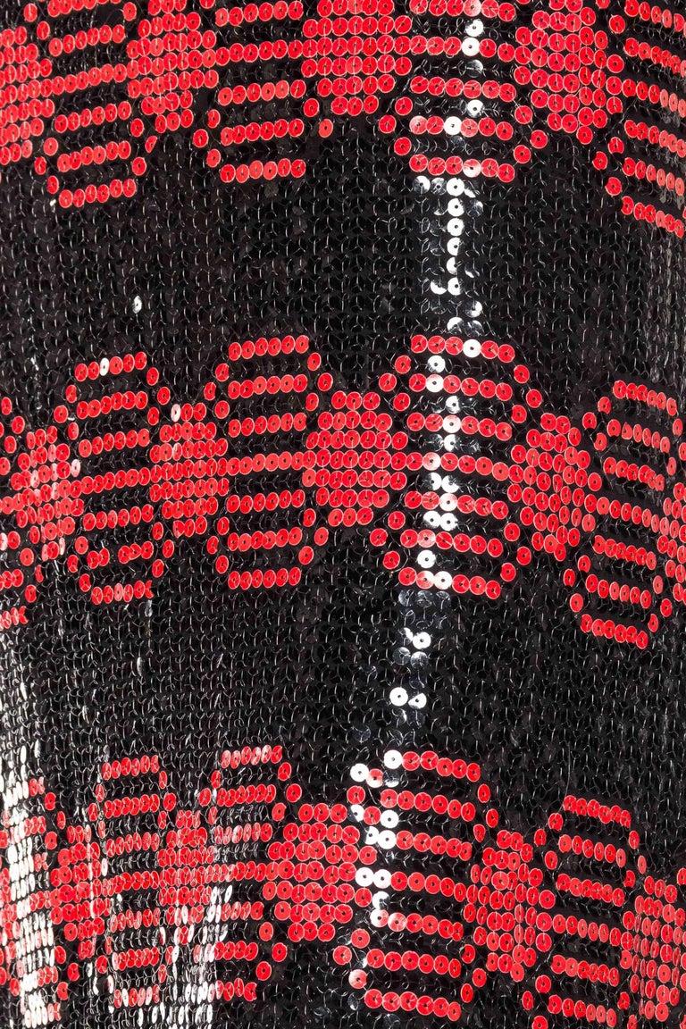 Adele Simpson Mod Sequin Dress For Sale 3